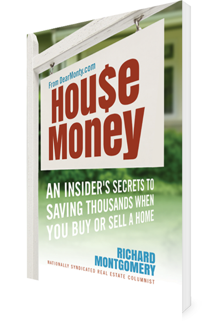 Cover of House Money Real Estate Book by Dear Monty